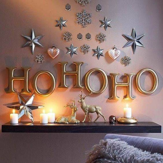 20 best Christmas wall decorations images