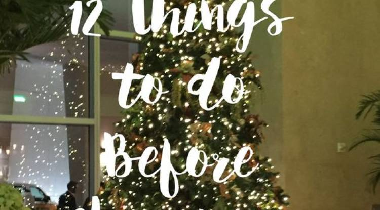 12 Cool Activities to Do Before Christmas