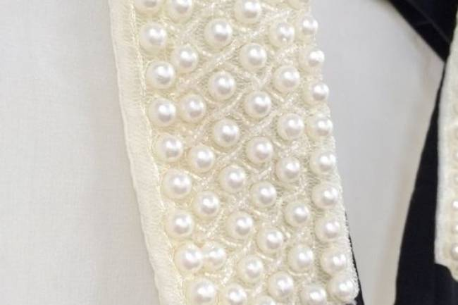 DIY PEARL COLLAR