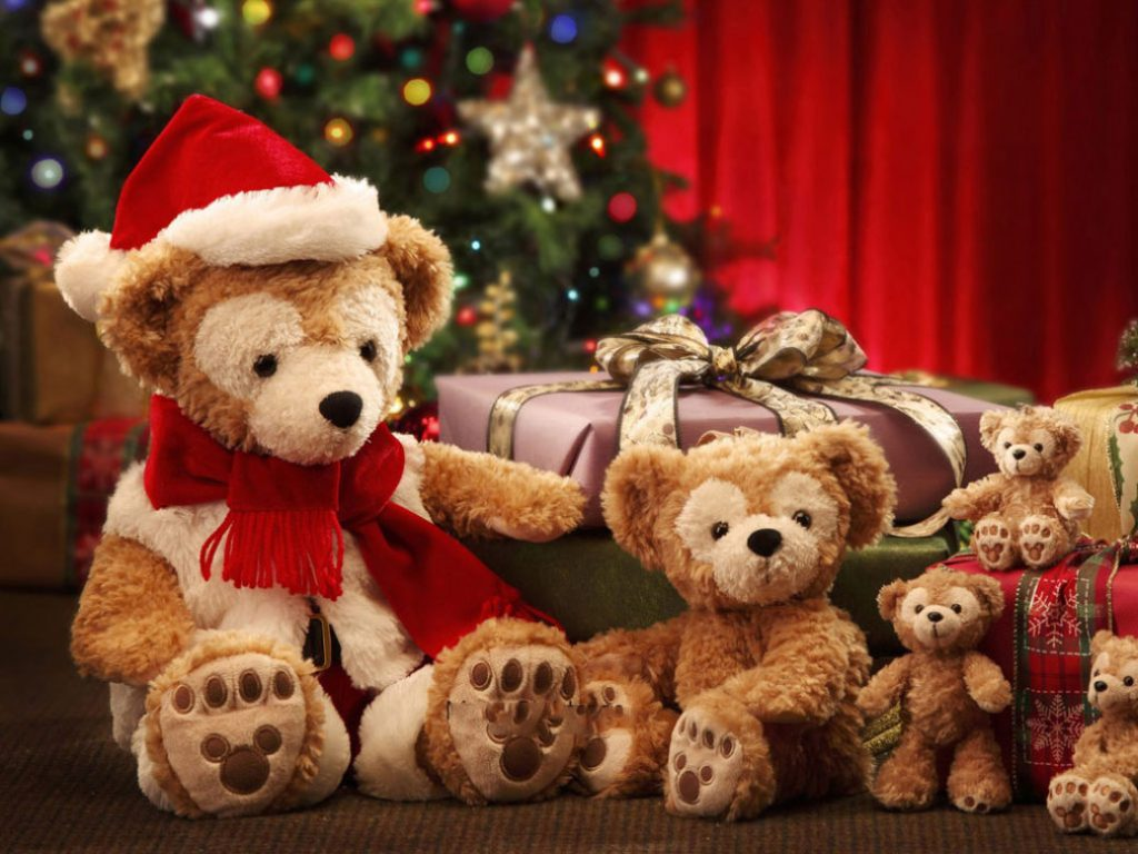 teddy bear christmas gift